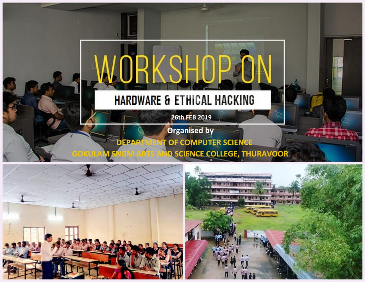 WORKSHOP ON HARDWARE & ETHICAL HACKING